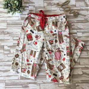 Nick and Nora Sock Money Pajama Pants